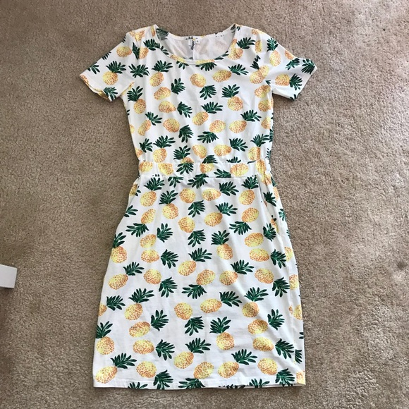 journey five Dresses & Skirts - Journey Five Pineapple Dress Size M
